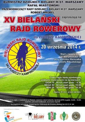 XV Bielański Rajd Rowerowy