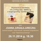 Spotkanie autorskie z Joanną Jurgałą-Jureczka